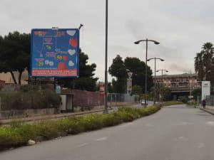 Corso Carlo Marx direzione Catania Misterbianco Catania Cartelloni Pubblicitari