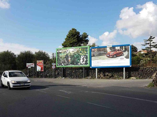 Uscita Centro Commerciale Le Ginestre Tremestieri Etneo Catania Cartelloni Pubblicitari