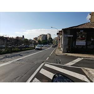 Via Barriera del Bosco direzione Due Obelischi - Sant'Agata Li Battiati