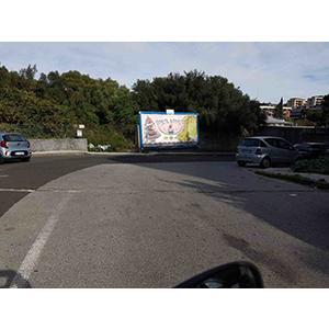 Via Montipeloritani presso scuola Campus Catania 6x3