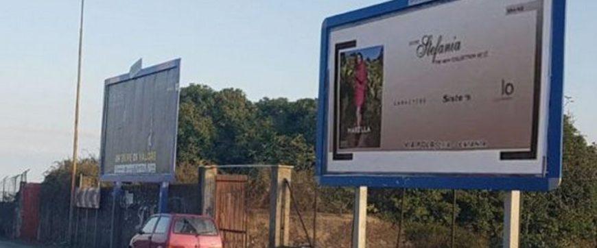 i cartelloni pubblicitari
