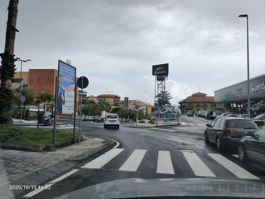 Piazza Tivoli fronte Simply – Canalicchio
