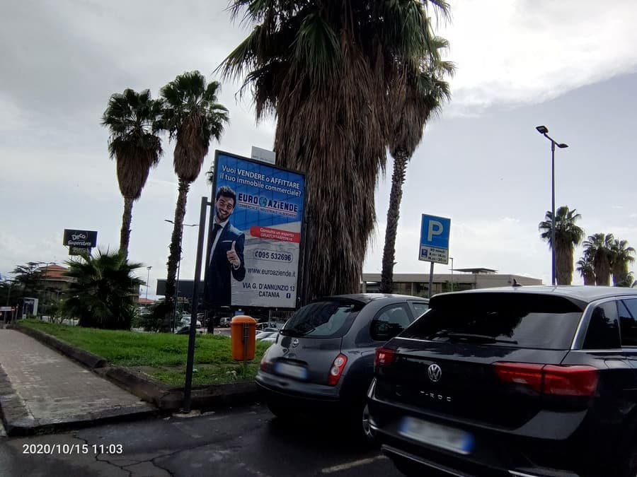 Via Trinacria fronte Parcheggio - Canalicchio